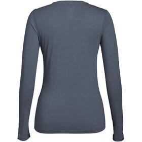 super.natural Base LS 175 Shirt Women Quiet Shade Melange